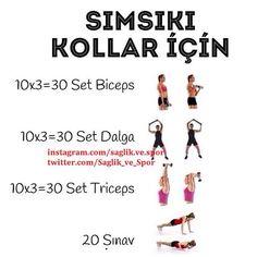 sımsıkı kollar için :) kol çalıştırma sarkmalara meydan oku! #spor #fitness #body #workout #arm