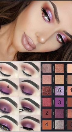Great Skin Care Tips Can Change Your Life Step by step how to create this gorgeous makeup smokey eye look.Step by step how to create this gorgeous makeup smokey eye look. Eyeshadow Looks, Eyeshadow Makeup, Liquid Eyeshadow, Matte Eyeshadow, Makeup Brushes, Huda Beauty Eyeshadow Palette, Smokey Eyeshadow, Makeup Inspo, Makeup Inspiration