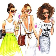 Community Post: 12 Inspiring Fashion Illustrators To Follow On Instagram