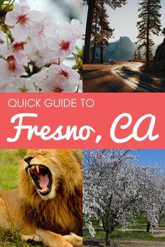 Explore the attractions of Fresno, California!