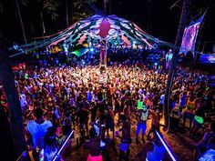 Halfmoon Festival -The Half Moon Party is the second biggest party on Koh Phangan and it takes place outdoors in the jungle at the edge of Baan Tai. If you are in town, next part kicks off on 16th of September. #ilovekohphangan #kohphangan #BaanTai #Thailand #HalfmoonFestival