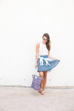 Mixing Prints - Dallas Wardrobe