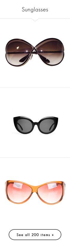 """Sunglasses"" by singlemom ❤ liked on Polyvore featuring accessories, eyewear, sunglasses, glasses, shades, oversized sunglasses, salvatore ferragamo eyewear, vintage glasses, oversized glasses and round frame sunglasses"