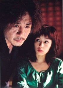 Dae-su Oh and Mido in Oldboy