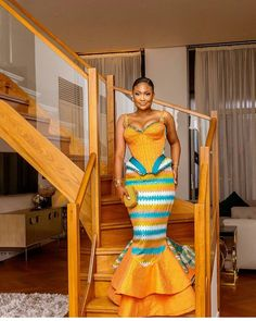 Traditional Dresses in South Africa African Wedding Attire, African Attire, African Wear, African Dress, African Traditional Wedding, African Traditional Dresses, Kente Styles, Ankara Gown Styles, Latest African Fashion Dresses