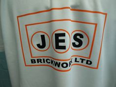 Sports polo tees / custom Cricket shirts for Rothwell Town Cricket Club. With custom logo embroidered on the front and printed details on the front, these look FAB and bright! Sponsored by JES Brickwork Ltd.