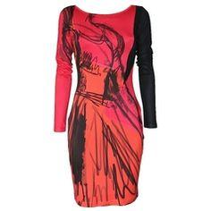 Eroke | Najaar - Winter | Fashionboutique Femelle Model Red Sunset