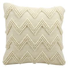 Found it at AllModern - Lohr Chevron Wool Throw Pillow