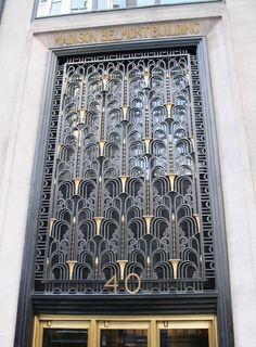 Best Art Deco Design Architecture New York Ideas Arte Art Deco, Estilo Art Deco, Tag Art, New York City, Art Nouveau, Art Deco Stil, Art Deco Buildings, Inspiration Design, Building Art