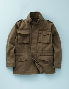 mini Boden's Utility Jacket for Boys, $60.