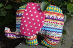 Happy elephant. Handmade ♡ raising money for mother of peace, South Africa