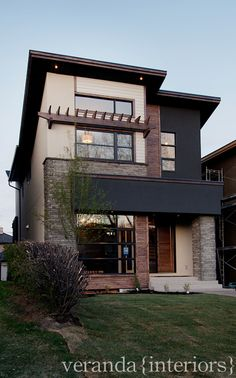 Altadore {one} Front Exterior // Veranda Estate Homes & Interiors #exterior #elevation