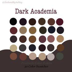 Dark Color Palette, Colour Pallete, Dark Colors, Purple Color Palettes, Brown Color Schemes, Estilo Dark, Hex Codes, Looks Dark, Balkon Design