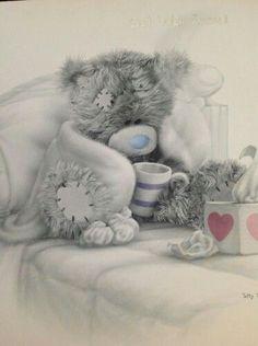 Tattie Tedy get well Teddy Bear Quotes, Teddy Bear Images, Teddy Bear Pictures, Tatty Teddy, Mery Chrismas, Blue Nose Friends, Bear Graphic, Love Bear, Get Well Soon