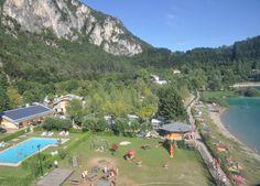 Lago di Ledro, Dolomites. Trentino, Italy   Camping al Sole