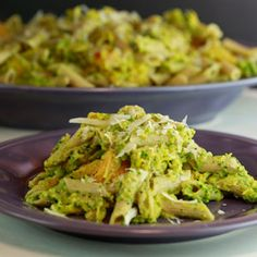 Penne and Roasted Squash with Pumpkin Seed Pesto