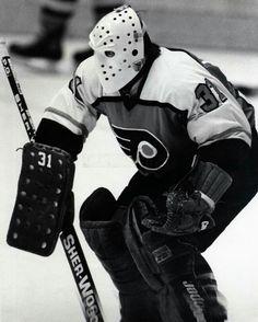 Pelle Lindbergh   Philadelphia Flyers   NHL   Hockey