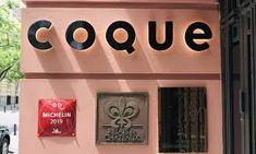 restaurante coque madrid - Google Search Madrid Restaurants, Company Logo, Google, Bun Hair, Restaurant