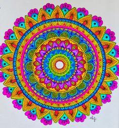 Mandala in progress :) on Behance