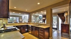 Gorgeous wood kitchen cabinets   Renovatio in Tales from Carmel