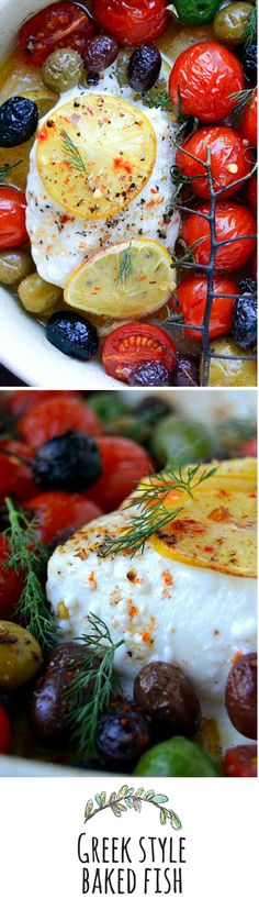 A quick and easy healthy dinner, Mediterranean style.