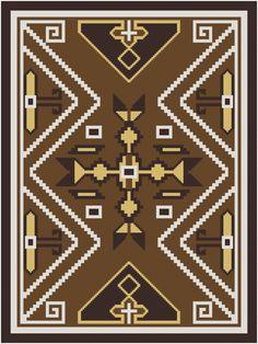 Wayuu Mochila pattern Ode an die Navajo Kreuzstich von MartisXSDesigns auf Etsy