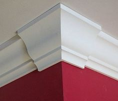 Corners with crown molding