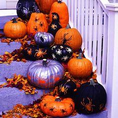 40 Easy to Make DIY Halloween Decor Ideas.Can't wait for Halloween! Porche Halloween, Boo Halloween, Holidays Halloween, Halloween Crafts, Halloween Halloween, Halloween Parties, Halloween Clothes, Halloween Tricks, Halloween Designs