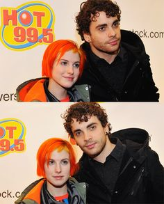 Hayley Williams and Taylor York. 2014.