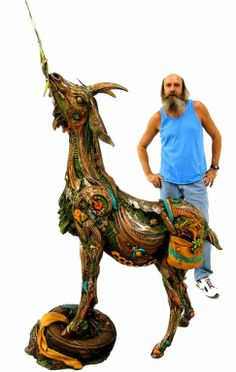"www.artshopnc.com   ""Eric"" Nanimals - Life Size Sculptures"