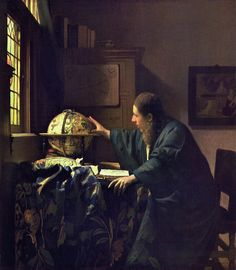 Johannes Vermeer (Dutch 1632–1675), The Astronomer, c. 1668.