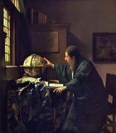 Johannes Vermeer (Dutch 1632–1675), The Astronomer, c. 1668.