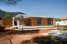 Prefab Retreat by Noem - Lovely prefab home in Spain