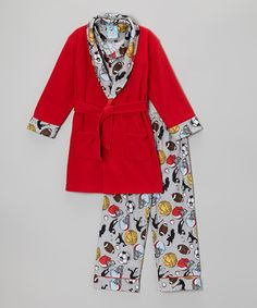 Another great find on #zulily! High Rise Champions Robe Set - Infant #zulilyfinds