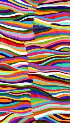 Aboriginal-Art-by-Sally-Clark-82cm-X-140cm on eBay