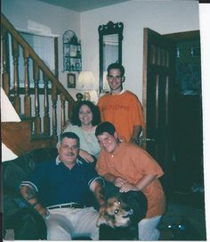Kelly, Billy, Ben, and Dad