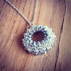 Handmade Beaded Jewelry, Pendant Necklace, Diamond, Create, Diamonds, Drop Necklace