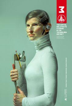 District 3 Poster: Das Capitol ehrt seine Distrikt-Helden mit eigenen The Hunger Games: Mockingjay Part 1 Postern #hungergames #mockingjay #tributevonpanem