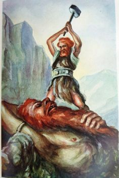 Classic Illustrations from Norse Mythology Norse Pagan, Pagan Art, Norse Mythology, Norse Vikings, Asatru, Tarot Decks, Gods And Goddesses, Mythical Creatures, Art History