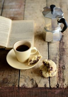Coffee and Books. What more could you want?