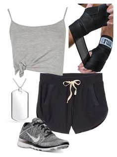 Untitled #120 by l-r-warda on Polyvore featuring Victoria's Secret, NIKE and Bling Jewelry