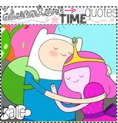 """""""Adventure time quotes ♥(:"""" by the-awful-nerds ❤ liked on Polyvore"""
