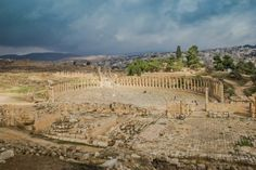 Jerash Is Jordan Safe. Ancient Roman City of Jerash. Read the full blog post.
