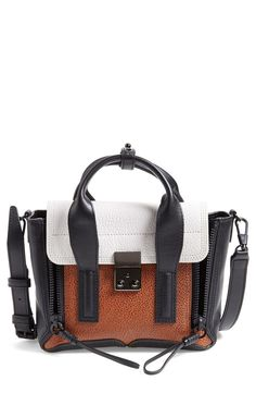 Must have this Phillip Lim mini satchel! Love the sleek and modern design with the matte-black hardware. Perfect accessory for fall. #nordstrom #anniversarysale