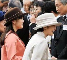 Princess Mako and Princess Kiko,November 12, 2015 | Royal Hats