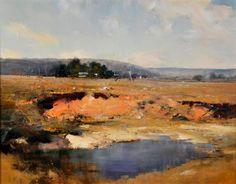 Paintings - Kenneth J. Knight - Page 8 - Australian Art Auction Records Australian Painting, Australian Art, Paintings I Love, Beautiful Paintings, Abstract Landscape, Landscape Paintings, Landscapes, A Level Art, Impressionist Paintings