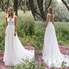Weddings & Events Good 2017 New Designer Long Cap Sleeves Lace Sexy Open Back Bohemian Beach Wedding Dresses Sheer Neck Informal Reception Bridal Gowns