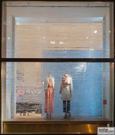 Cool winter/snowy feel.   Anthropologie Holiday Window 2011