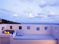 House terrace located on #Filicudi, one of eight islands that make up the #Aeolian_archipelago (Italy).