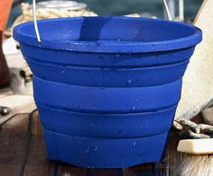 Collapsible Bucket  The collapsible bucket is the last bucket youll ever have to buy. This versatile bucket is made from durable silicone and features an innovative design that allows you to adjust the height to four different levels so you find the right fit for the job at hand.  $29.99  Check It Out  Awesome Sht You Can Buy